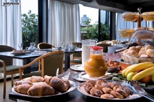 Colazione per gli sposi hotel galles milano best for Hotel galles milano
