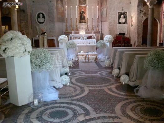 Foto 523 addobbi floreali chiesa e cerimonia addobbi for Addobbi 25 anni di matrimonio