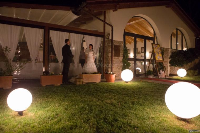 Borgo La Fratta - Il matrimonio di sera