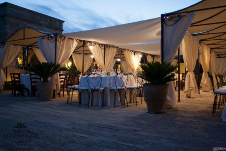 Tenuta San Leonardo - Il ricevimento di nozze di sera
