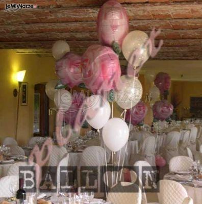 Foto 56 addobbi con palloncini decorazioni con - Decorazioni matrimonio palloncini ...