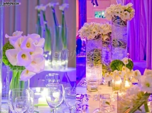 Decorazioni floreali per il ricevimento di matrimonio domus talenti wedding planner foto 1 - Decorazioni per matrimonio ...