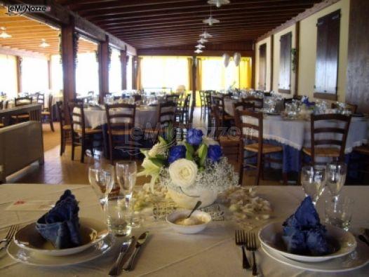 Sala interna per ricevimenti di nozze