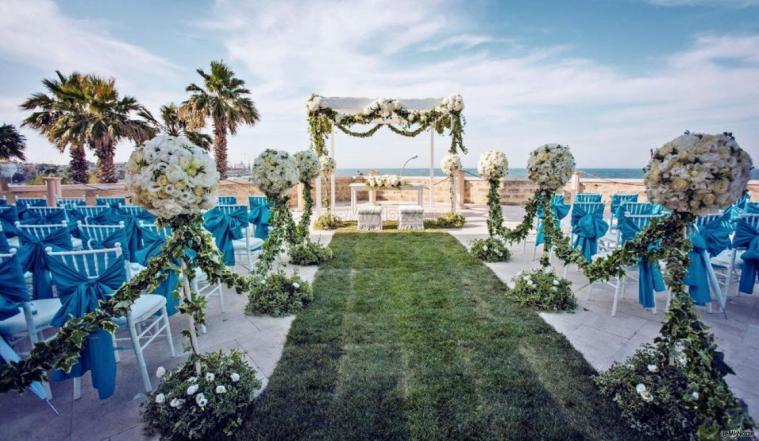 Famoso F&B Luxury Events - Allestimento del matrimonio all'aperto - F&B  WH58
