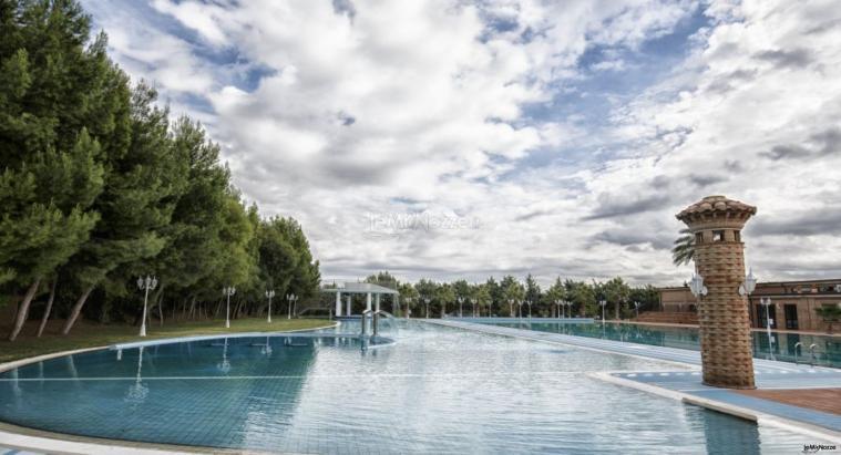 Grand Hotel Vigna Nocelli Ricevimenti - La piscina esterna