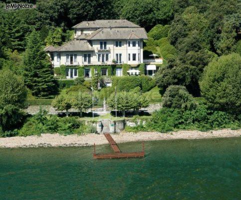 Villa Claudia dei Marchesi Dal Pozzo per il matrimonio sul Lago Maggiore