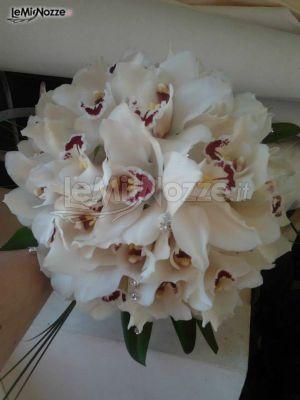 Bouquet Orchidee Sposa.Foto 11 Bouquet Classico Bouquet Per La Sposa Di Orchidee Con