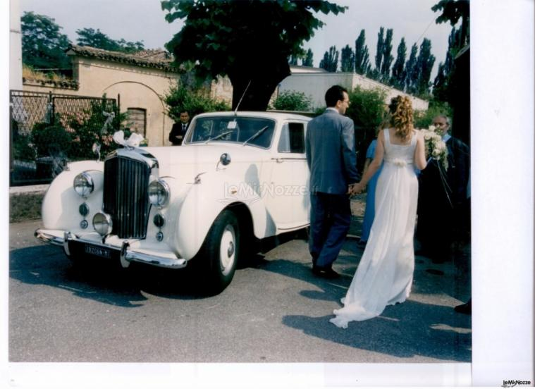 Cerimonie D'Incanto Wedding & Events Planner - L'auto degli sposi