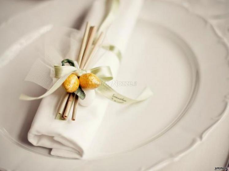 La Terra degli Aranci - Mise en place per il matrimonio