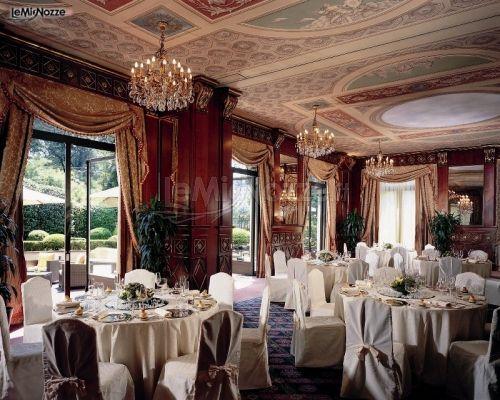 Veranda per il ricevimento di matrimonio - Hotel Principe di Savoia a Milano
