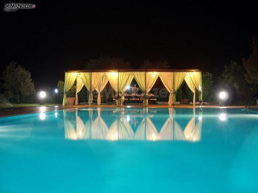 Ricevimento di matrimonio a bordo piscina maison alegia for Matrimonio bordo piscina