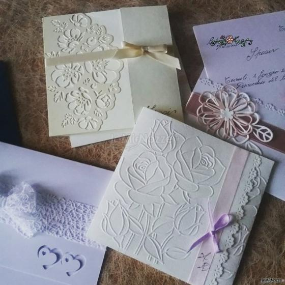 Partecipazioni e Coordinati di Tonia D'Adderio - Ricami di carta