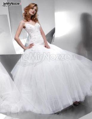 Collezione Floranna - Abito da sposa modello Sabrina