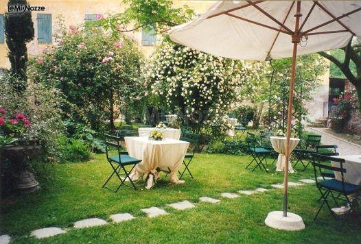 Matrimonio In Giardino : Ricevimento di matrimonio in giardino villa il palazzo