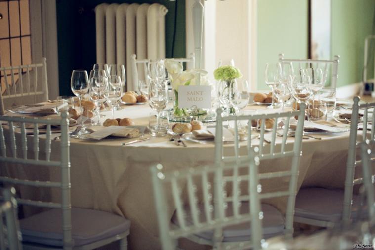 T'a Milano Catering & Banqueting - L'allestimento della tavola