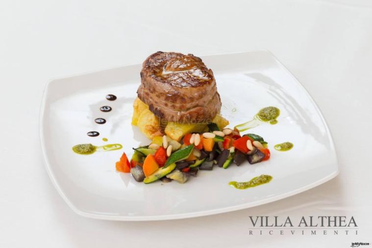 Villa Althea Ricevimenti - Cucina d'autore