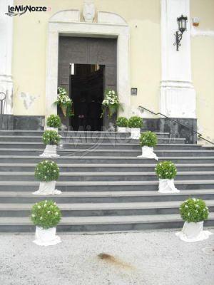 Foto 533 addobbi floreali chiesa e cerimonia addobbi for Fiori per esterno