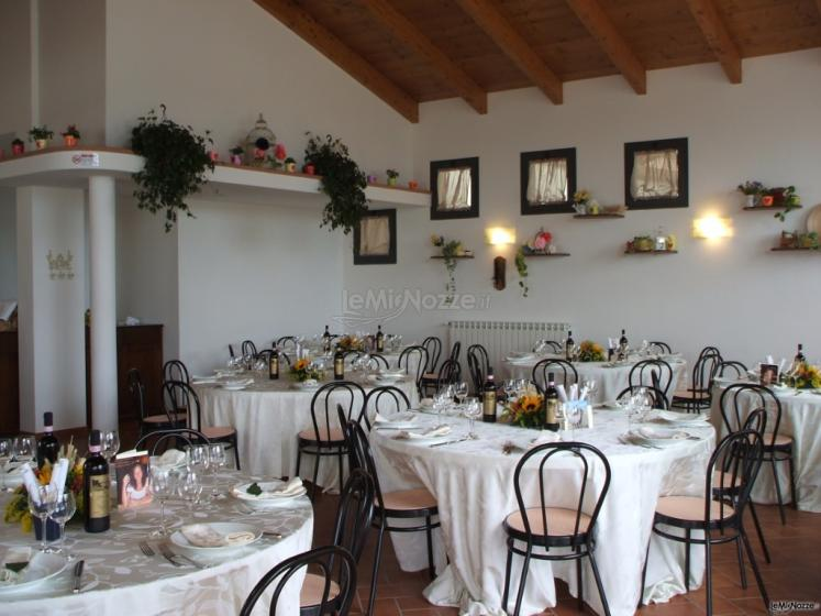 Borgo La Fratta - La sala del ricevimento per il matrimonio