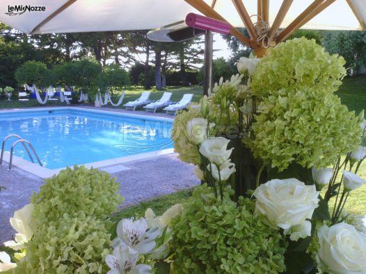 Ricevimento di matrimonio a bordo piscina villa carola for Matrimonio bordo piscina