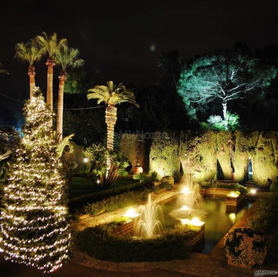 Villa Vergine - Giochi di luci
