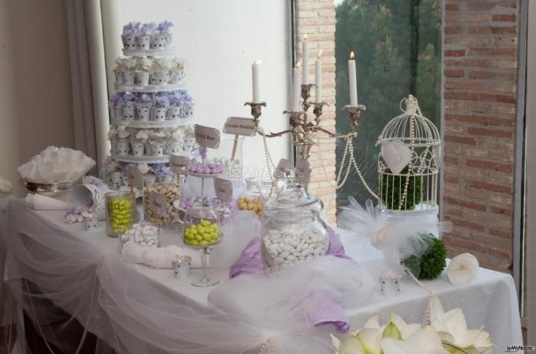 Il tavolo dei confetti