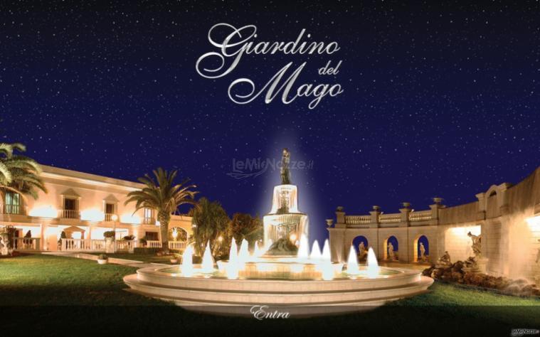 fontana centrale del giardino del mago - giardino del mago - foto 1