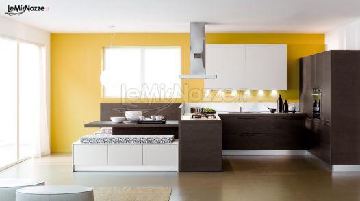 Cucina con tavolo all 39 americana gavillucci arreda foto 11 for Cucina americana arredamento
