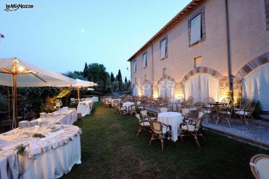 Ricevimento di matrimonio in giardino convento di san - Matrimonio in giardino ...