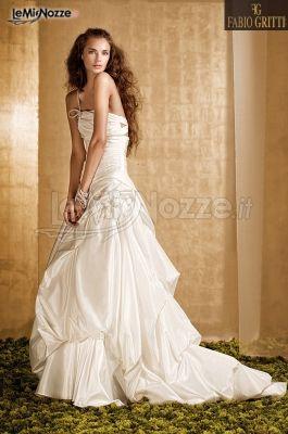 Vestito da sposa di Fabio Gritti - Modello Via col Vento
