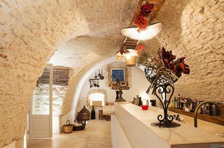 Masseria San Michele - La sala per gli aperitivi