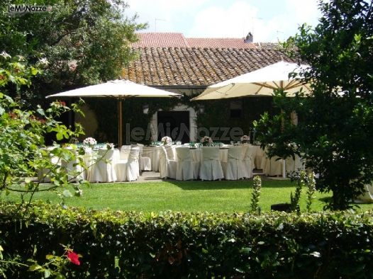Ricevimento di matrimonio in giardino castel giuliano - Matrimonio in giardino ...