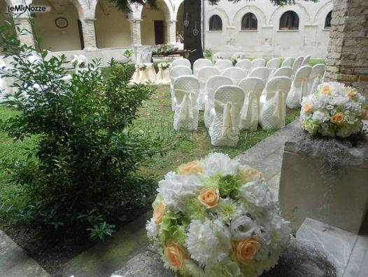 Foto 51 addobbi per cerimonie all 39 aperto allestimento for Allestimento giardino matrimonio