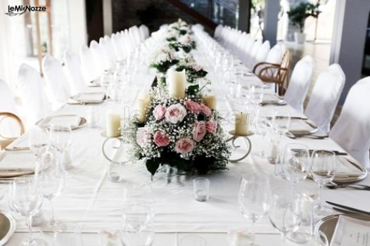 Foto 33 Centrotavola Matrimonio Tavolo Imperiale Per