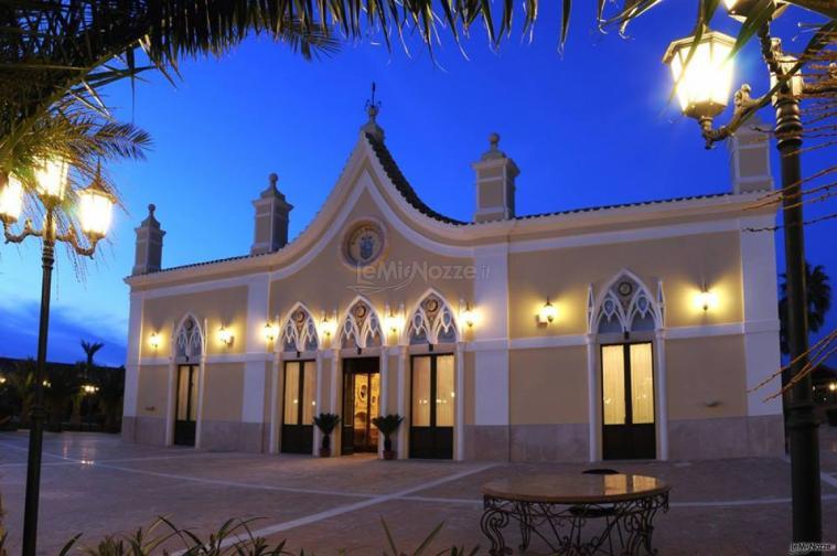 Grand Hotel Vigna Nocelli Ricevimenti - Una vista serale della struttura