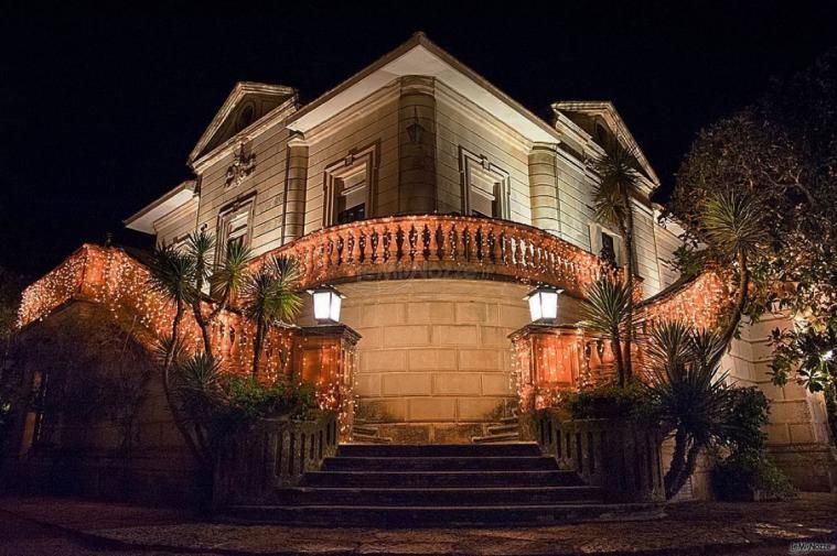 Villa Vergine - Di notte