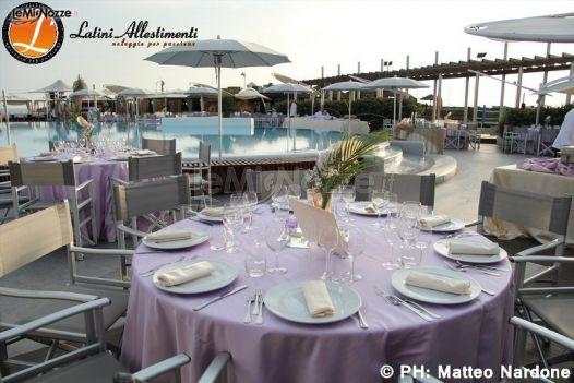 foto 45 - matrimonio in lilla - noleggio tavoli e sedie per il