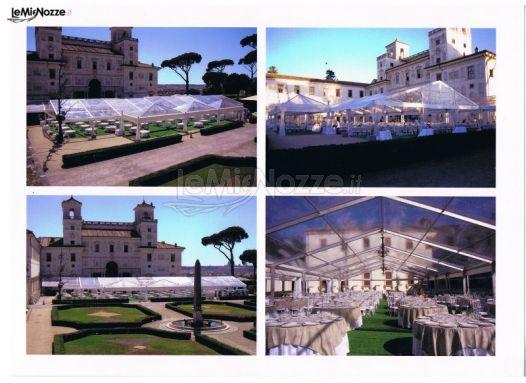 Foto 2 gazebo per matrimoni soluzioni con gazebo per for Soluzioni per dividere giardino
