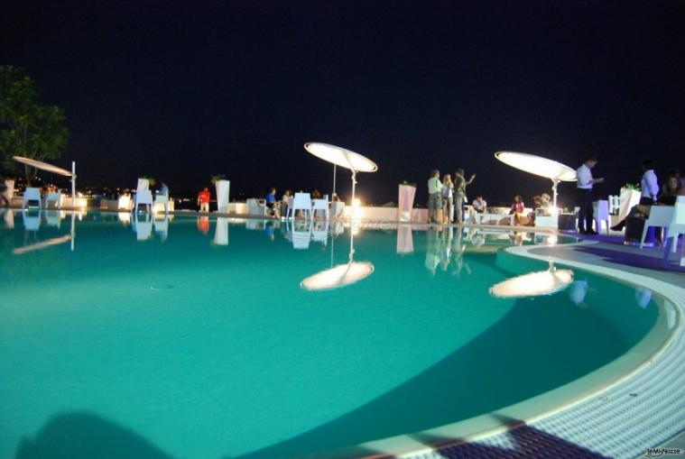 Kora Pool and Beach Events - Piscina della location di matrimonio a Napoli