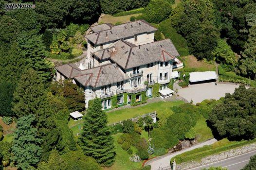 Ingresso a Villa Claudia
