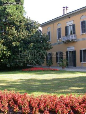 Ingresso di Villa Gattoni