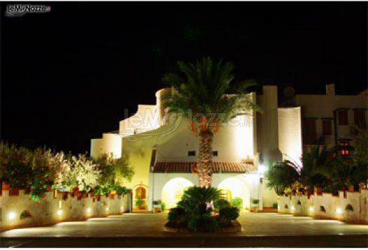 Esterno dell'hotel per ricevimento di matrimonio Hotel Baia del Capitano