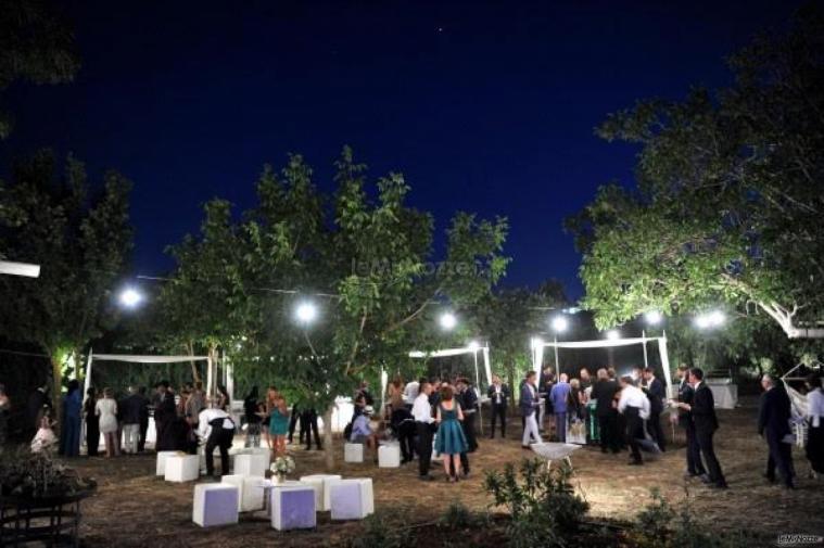 Masseria San Michele - La festa di nozze all'aperto
