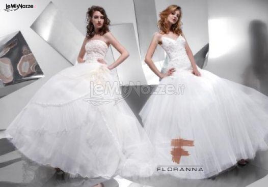 Collezione Floranna - Abiti di nozze modelli Valentina e Sabrina