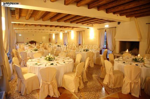 Sala interna per il matrimonio
