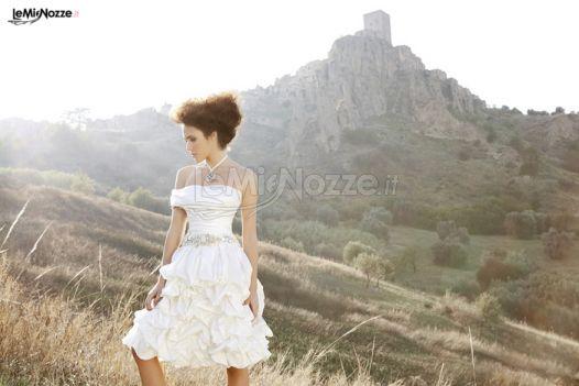 Foto 4 - Abiti da sposa corti - Angela Pascale Spose - Vestito da ... 449265e4dbe
