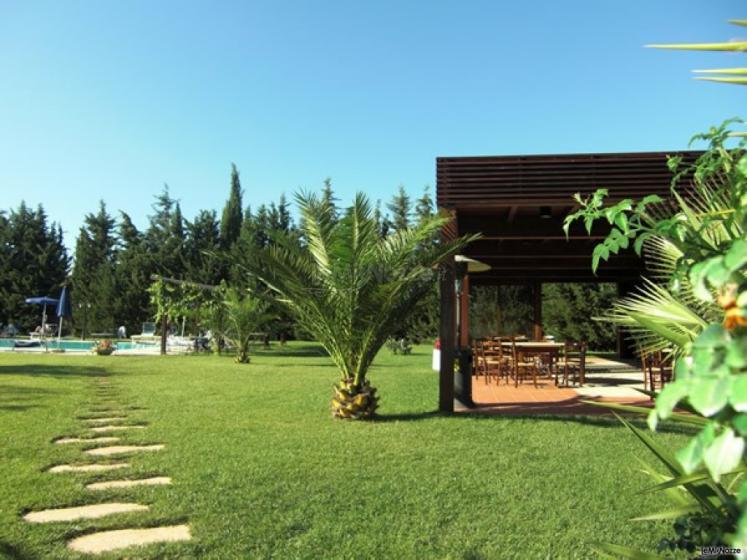 Masseria Montepaolo - Particolare del giardino