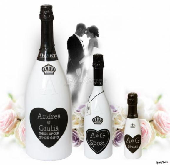 Super Swart - Bottiglie personalizzate per matrimoni - LeMieNozze.it OB28