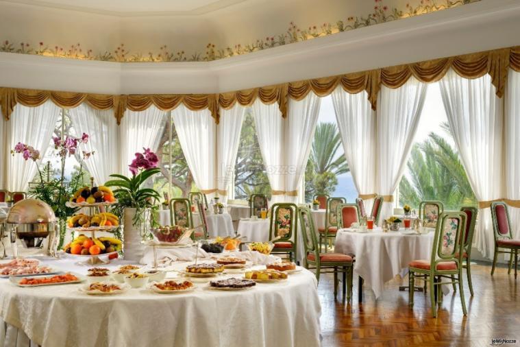Royal Hotel Sanremo - La sala colazione - Royal Hotel ...