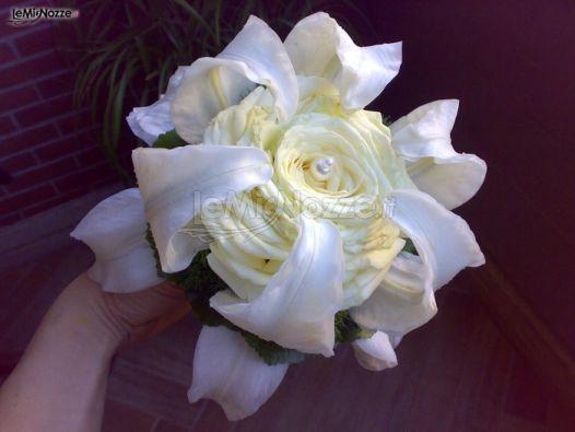 Bouquet Sposa Total White.Foto 41 Bouquet Sposa Bouquet Per La Sposa Total White Con