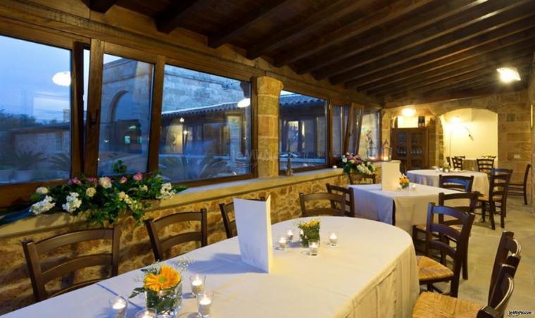 Tenuta San Leonardo - I tavoli con vista sul giardino